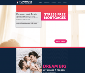 Top House Mortgage Solutions Ltd - New Website